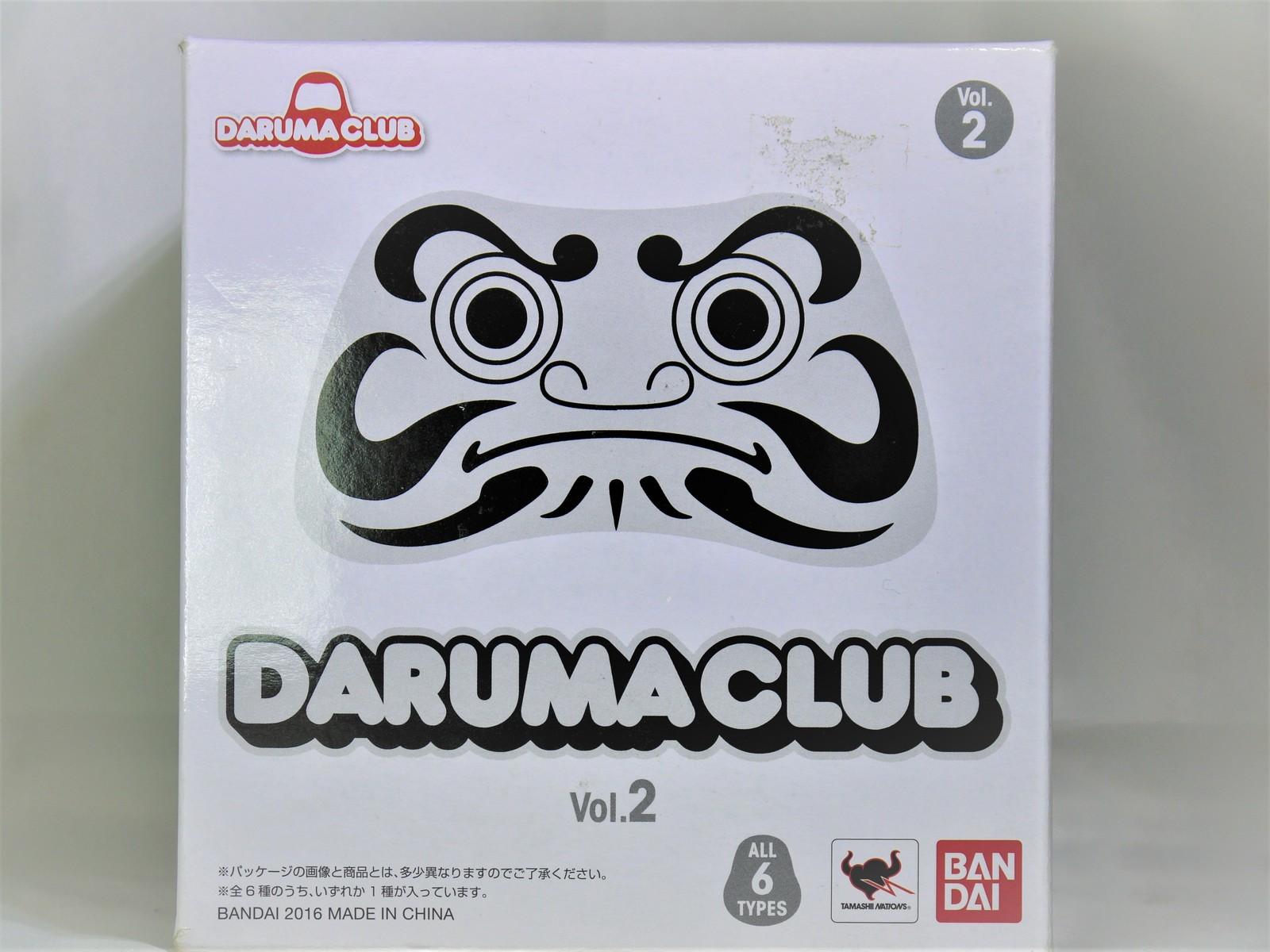 BANDAI DARUMA CLUB Volume 2 SUMO DARUMA FIGURE WHITE