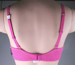Calvin Klein Fucsia F3916-679 Perfectly Fit Modern T-Shirt Underwire Bra 34D NWT image 3