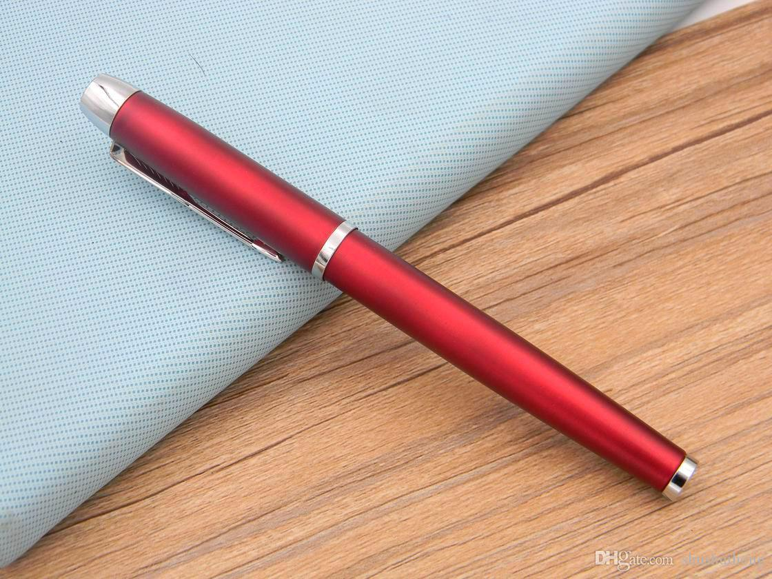 gift IM Red Lacquerred Arrow Clip 0.5mm Nib Roller ball Pen