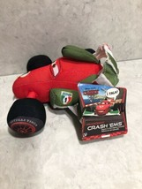 "Disney Pixar Cars 2 Franchesco Ferrari Plush 5"" Toy Crash Ems A2 - $13.95"