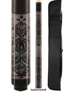 L51 MCDERMOTT LUCKY Two-piece Billiard Game Pool Cue Stick & FREE 1x1 SO... - $111.95+