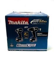 MAKITA 18V 5.0 Ah Li-Ion Brushless Cordless Hammer Drill and Impact Driv... - $285.71