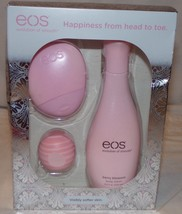 EOS Evolution of Smooth Set New Berry Blossom Hand Body Lotion Coconut L... - $18.28