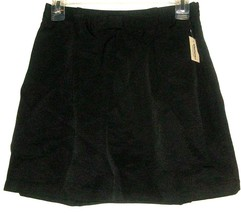 WOMEN'S NEW BLACK FITTED WAIST BOW SKIRT SIZE SP - $9.00
