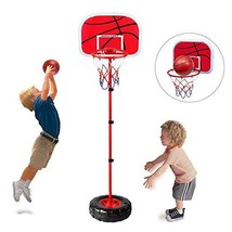 Happytime Stand Wall 2-in-1 Basketball Set Kids Stand Adjust Hoop & Wall Basketb