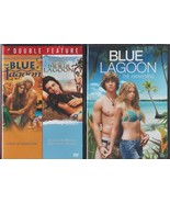 BLUE LAGOON-1-2-3-Return to & Awakenings-Brook Shields-Milla Jovovich-NE... - $29.69