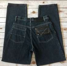 Kenneth Cole Mens size 30x34  Dark Wash Denim Blue Jeans NWT! Men's Jean... - $406,06 MXN