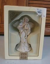 LENOX My Own Guardian Angel AUGUST Birthstone Birthday Figurine With Box  - $23.75