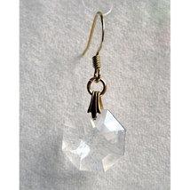 Crystal Octagon Earrings image 1
