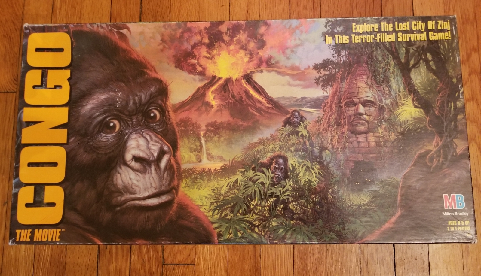 Primary image for CONGO THE MOVIE GAME 1996 MILTON BRADLEY HASBRO #4549 COMPLETE