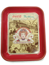 Coca-Cola Commemorative Fred Harvey Centennial Tray Issued 1976 - $9.90