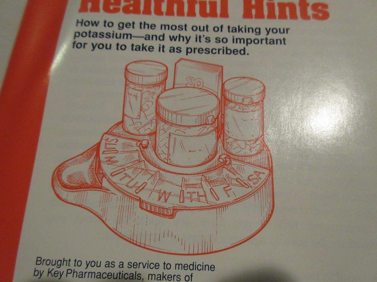 Rx , Pharmacy ,K-Dur ,1994 ,Medication Therapy Optimizer ( Medication Organizer) image 7