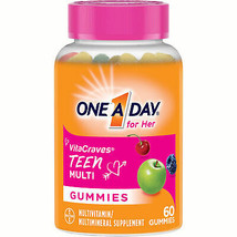 One A Day VitaCraves Teen for Her Multivitamin Gummies Supplement with V... - $18.21
