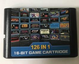 126 in 1 Sega Genesis Mega Drive Multicart - 126 Games - 18 Bit Game Cartridge - $17.41