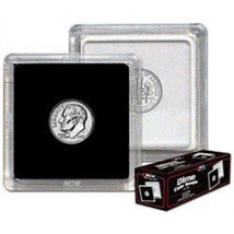 BCW 2x2 Premium Snaplock Coin Holders for Dime 17.9mm 25 pack - $11.99