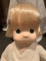 Precious Moments The Jesus Loves Me Doll Girl Doll Rare New Original Tag... - $29.99