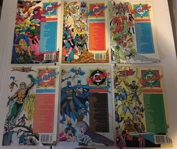 Who's Who #1 2 3 4 5 6 DC Book Lot Of 6 1985 LOT /  Run VF+/NM Condition... - $8.99