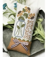 Sunshine On A Stem cross stitch chart Hands On Design  - $8.00