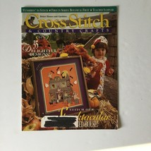 Cross Stitch & Country Crafts Magazine September October 1993 Halloween - $4.94