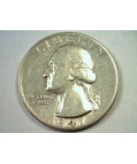 1941 WASHINGTON QUARTER DOUBLE DIE REVERSE EXTRA FINE+ XF+ EXTREMELY FIN... - $62.00