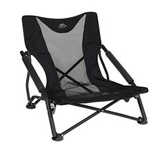 Cascade Mountain Tech Compact Low Profile Outdoor Folding Camp Chair with Carry  - $45.26
