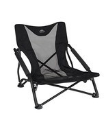 Cascade Mountain Tech Compact Low Profile Outdoor Folding Camp Chair wit... - £37.59 GBP