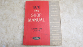 Ford 1970 Car Shop Manual Volume One Chassis  238 - $23.36