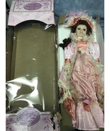"""20"""" Victorian Duck House with stand mauve dress - $20.48"""