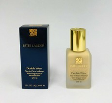 Estee Lauder Double Wear Stay-in-Place Foundation Makeup SPF10 1W1 Bone - $37.39