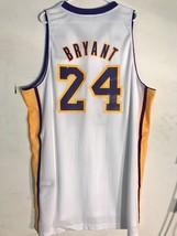 Adidas Swingman NBA Jersey Los Angeles Lakers Kobe Bryant White Alternat... - $9.92