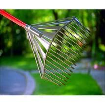 Premium Rake Home Garden Patio Tool Sturdy Handle Ergonomic Design High ... - $67.90