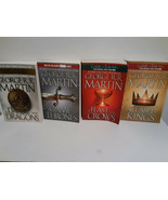 GAME OF THRONES 6 BOOKS: A FEAST FOR CROWS, CLASH OF KINGS & MORE - FREE... - $32.73