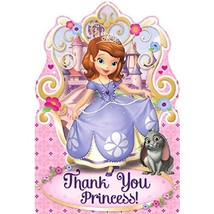 Postcard Thank You Cards | Disney Sofia The First Collection | Party Acc... - $6.62