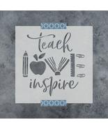 Teach Love Inspire Stencil - Durable & Reusable Mylar Stencils - $5.99+