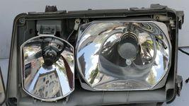 86-93 Mercedes W124 260E 300E 300D 300TE 400E Euro E-Code Headlight Lamps Set LR image 11