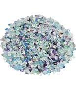 SUNYIK Fluorite Tumbled Chips Stone Crushed Crystal Quartz Pieces Irregu... - $20.99+