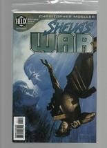 Sheva's War #4 - Helix DC Comics - Christopher Moeller - Bag  & Board. - $1.47