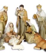 BEAUTIFUL SET OF 11 FIGURES, JESUS BIRTH, Christmas decor *Free Air Shi... - $139.00