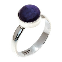 Natural Star Ruby 925 Sterling Silver Statement Ring  Handmade silver Ri... - $21.88