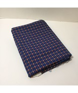 """1 Yard Plaid 2-Way Knit Fabric 62"""" wide Blue Red Green Brown White Cotton - $8.79"""