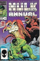 The Incredible Hulk Comic Book King-Size Annual #13 Marvel 1984 VERY FINE+ - $4.25