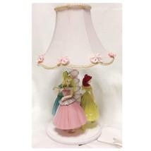 Disney Store Princess Figure Lamp Room Lamp Bell Floor Stand Ladies Girls - $323.73