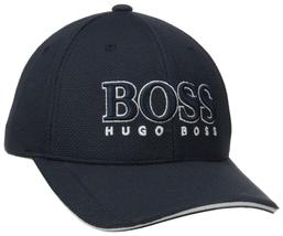 New Hugo Boss Men's Pique Logo Adjustable Trucker Sport Hat Cap 50251244 image 11
