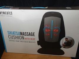 HoMedics Shiatsu Deep Kneading Massage Cushion with Heat - 3 Massage Zon... - $91.58