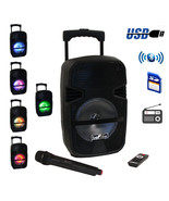 beFree Sound 8 Inch 400 Watt Bluetooth Portable Party PA Speaker System ... - $96.92