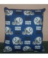 Colts Pillow NFL Pillow Indianapolis Colts Pillow Football Pillow HANDMA... - $9.99