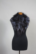 Luxury gift/Blue Fox Fur Collar  Women's/wedding or anniversary present - $89.00