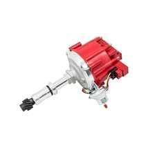 Top Street Performance JM6525R HEI Distributor Red Cap Big Block 400 430 455