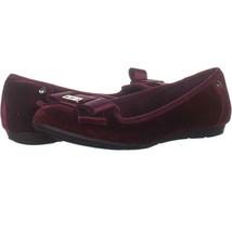 Anne Klein Sport Alivia7 Slip-On Ballet Flats 799, Wine Multi, 6.5 US - $23.03