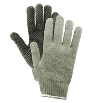 (12) Pair Ladies Magid Dotted Med Weight Cotton/Poly Work Glove Knit Wri... - $17.81